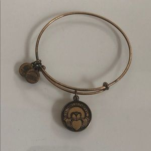 Alex and Ani Claddagh Bracelet